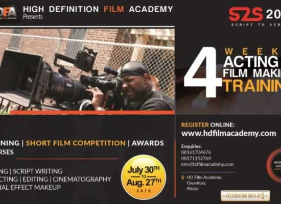High Definition Film Academy unveils 2016 Edition of PROJECT SCRIPT 2 SCREEN