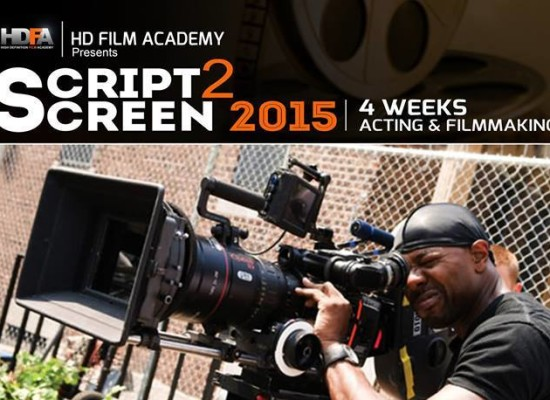 2015 Script to Screen Commences