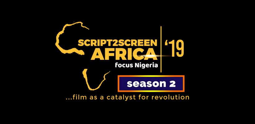 Audition Opens For Script2Screen Africa Reality TV Project Season 2