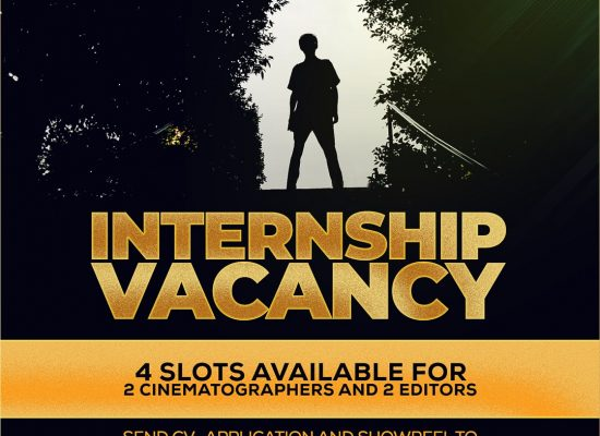 EDITING & CINEMATOGRAPHY INTERNSHIP VACANCY AT HIGH DEFINITION FILM ACADEMY & HIGH DEFINITION FILM STUDIOS